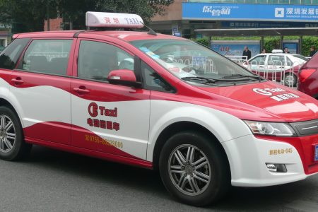 Beijing in new energy taxi move