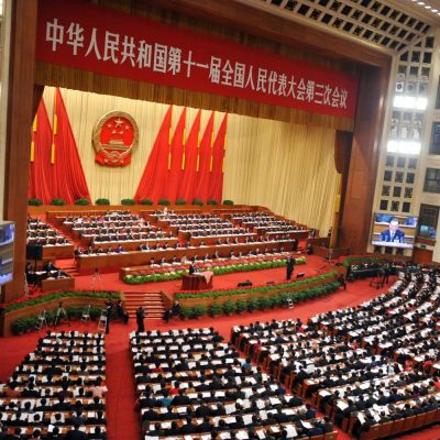 What is being talked on the backstage of Beijing while China's 19th Party Congress is getting closer ?